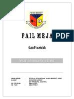 Fail Meja Guru Prasekolah - JPNSarawak