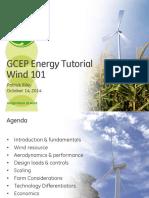 GE Wind Tutorial