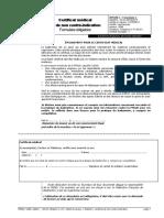ffbad certificat medical