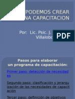 Como Podemos crear una capacitacón 1.pptx