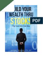 Build Your Wealth Thru Stocks 1