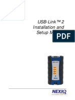 USB Link2 Installation Setup Manual