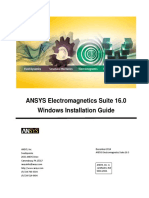 Guide Windows Electromagnetic Installatione