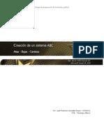 Creación de un sistema ABC parte 2