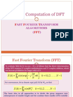 Ch 5 Fast Fourier Transform