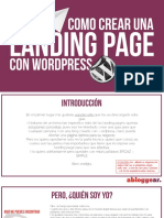 Crear Landing Pages Con Wordpress Abloggear