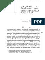 Joseantoniopardo Fenomenologia Del Espiritu Resumen