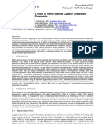 Formulating Geogrid Effect by Using Bearing Capacity Analysis of Reinforced Flexible Pavements