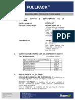 MSDS FULLPACK - 0115