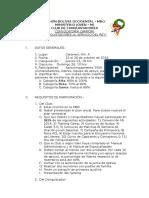 Convocatoria Camporí Conquistadores MBO