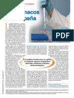 Biofarmacos en Espana