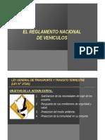 4 Reglamento Nacional de Vehiculos & ITV