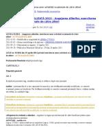 Legea 52 2011 ZILIERI + NORME