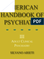 American Handbook of Psychiatry 3