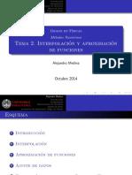 Interpolacion Web