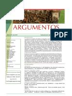 Revista Argumentos 2009