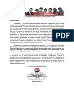 Carta Abierta al Director de El Mercurio