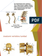 lumbal spinal stenosis