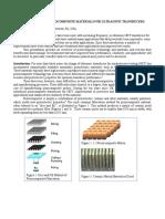 RECENT ADVANCES IN PIEZOCOMPOSITE MATERIALS FOR ULTRASONIC TRANSDUCERS