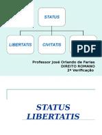 Status Libertatis, Civitatis e Familiae.ppt