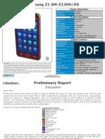 Samsung SM Z130H DS Sample Report