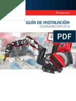 Guía de Instalación Solidworks Pdm 2016