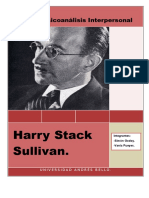 Sullivan. Psicoanálisis Interpersonal