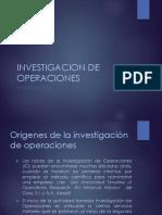1. Introducción a La Investigación de Operaciones