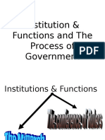 7 Institution, Functions