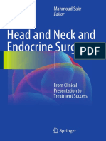 Head and Neck and Endocrine Surgery From Clinical Presentation to Treatment Success 1st Ed 2016