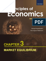 Chapter 3 - Market Equilibrium