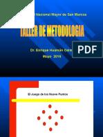 Taller de Metodologia unmsm.ppt