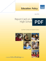 Report Alberta High Schools 2016