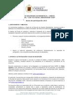 Bases y Formulario de Postulación Fondo CONFIA 2015