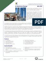 60-070 Datasheet Powerframes Core System 12 2013