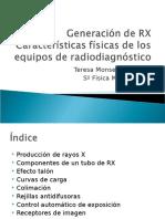 4 y 5 - Generación de RX. Características de Los Equipos de RD (1)