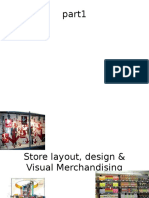 Store Layout and Visual Merchan
