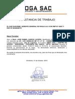 certificado muestra