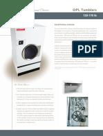 Catálogo Secadora Rotativa 120 170lb