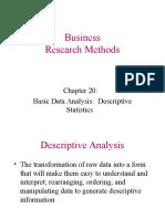 Ch20 Basic Data Analysis