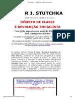 Piotr Stutchka _ Direito de Classe e Revolução Socialista