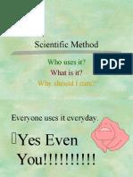 scientific method flyparsons
