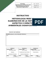 Instructivo de Metodologia Para La Elaboracion de MAIAS