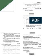 Adbms Paper 1