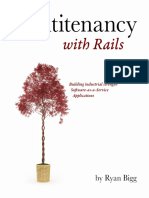 Multi Tenancy Rails 2 Sample