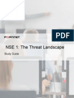 NSE1 Threat Landscape
