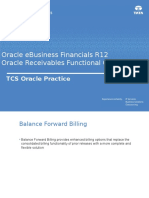 TCS Oracle EBS R12i Finance Delta Receivables Functional Overview v1.0 Accounts Receivable