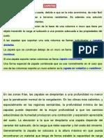 Cimentaciones Superficiales - Zapatas - 13-06-2016