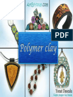 Yonat Dascalu-Polymer Clay All the Basic and Advanced Techniques You Need to Create With Polymer Clay-CreateSpace Independent Publishing Platform (2012)