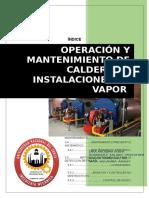 Operacion y Mantenimiento de Calderos e Instalaciones de Vapor